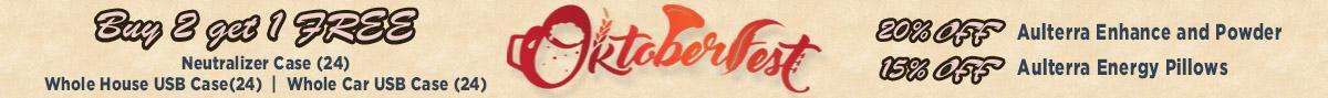 Octoberfest buy 2 get 1 free
