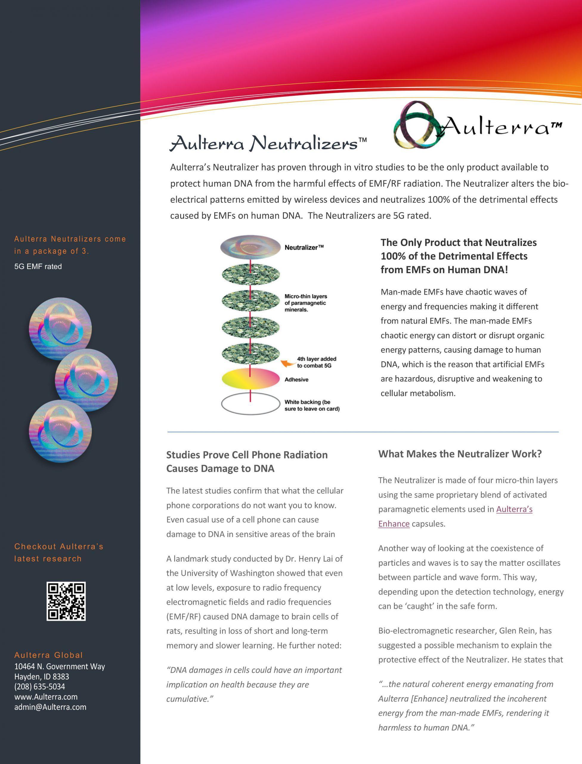 Aulterra Neutralizer Brochure
